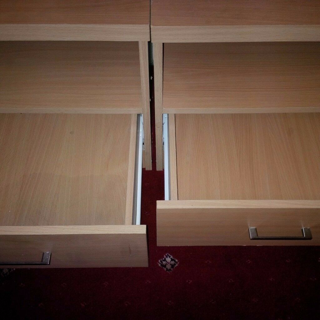 Bedside cabnets & Bookshelf/DVD/CD/Display unit