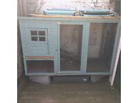 4/5ft rabbit hutch/ chicken coop