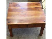 Table mahogany teakwood