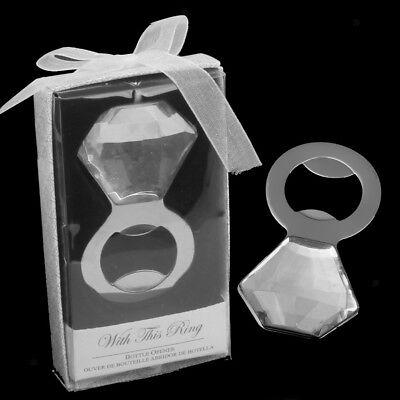 Diamond Bottle Opener Bridal Shower Bachelorette Wedding Party Favors Gift ()