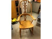 Rocking Chair- solid beech