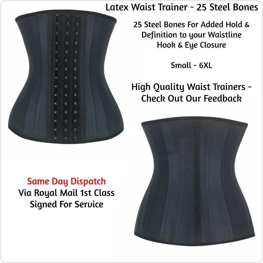 7a8f4dfb745 Extreme 25 Steel Bone Waist Cincher 4XL Waist Trainer Corset Girdle  Shapewear