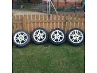 Fiat Alloys with Tyres