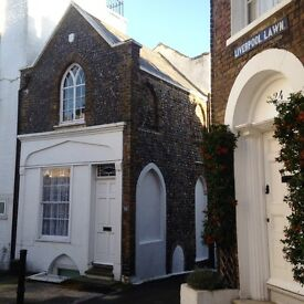 Therapy Room for Hire in Grade II Listed Cottage in Ramsgate, Close to Seafront, All Bills Inc.