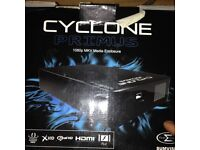 Cyclone device with 2tb hard drive & 6000 hd films on it, a real bargain at £400