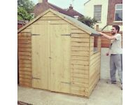 7x5 Garden Shed - dismantled ready for collection
