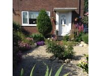 Large 2 bed S/D House with garage & drive on the edge of Poole/Bournemouth.