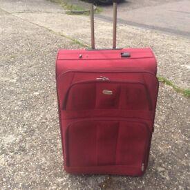 A large Hampton suitcase