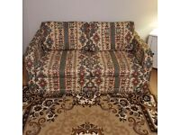 Two seater sofa bed good condition
