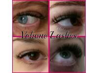 Eyelash extensions, volume 2d-8d, beauty, nails, tans