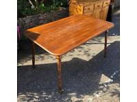Wooden table - seats 4/6