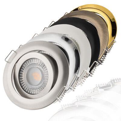 LED Einbaustrahler flach 4000K Neutralweiß 230V dimmbar Einbauleuchte Einbauspot ()