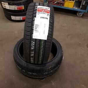 2 new tire  205/40R17