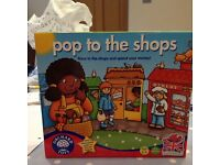 Pop to the Shops Game UNOPENED