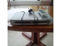 Alba dvd player with remote, Manual and 2 scart cables