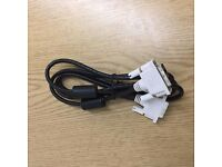 2m DVI-D male to DVI-D male Dual Link cable PC to Monitor Screen FREE DELIVERY