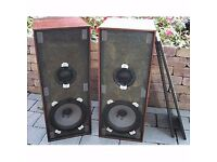 Vintage Beovox HT 2600 Type 6224 B&O Bang and Olufsen Speakers