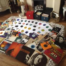 Vinyl records 20 plus.