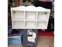 Ikea white wall shelf unit