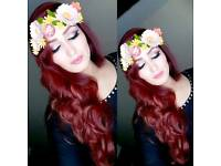 Faryal's professional Hair & M ake-up artist for all events