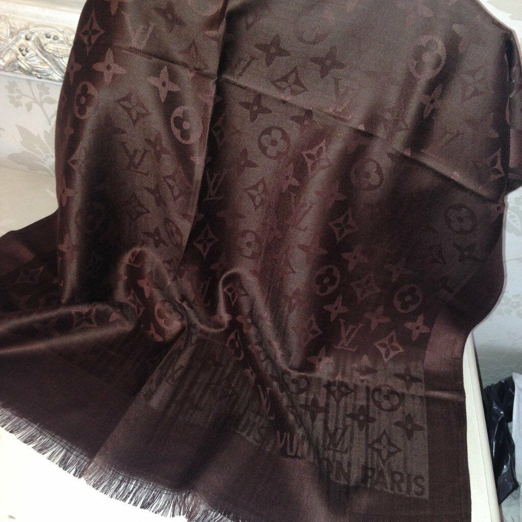 Silk Scarves Gumtree: Louis Vuitton Scarf Louis Vuitton Shawl Lv Scarf Lv Shawl
