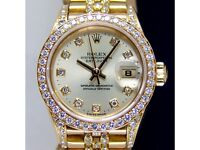 Rolex Saphire Crystal