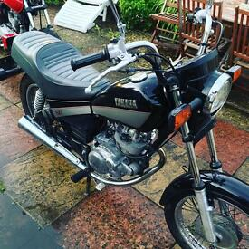 Yamaha SR125 Custom 8500 miles. 11 months MOT 795 ono
