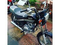 Yamaha SR125 Custom 8500 miles. 11 months MOT (swap)
