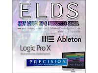Ableton & Logic PRECISON© Music Production Courses & Mix and Mastering Services DJ school London