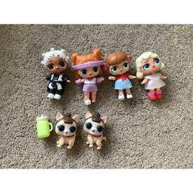 L.O.L doll bundle