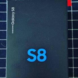 SAMSUNG S8, 64GB included memory card slot
