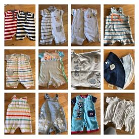 Baby boys summer bundle 0-3 months (next,mamas n papas,mothercare)