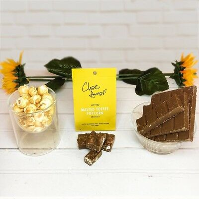 - Choc Amor's Toffee Popcorn Chocolate - Halal Islamic Gift (Muslims, Luxury, Eid)