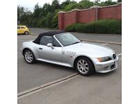 BMW Z3 1999 (T reg) convertible, electric roof