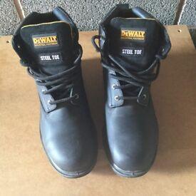 Used men's Dewalts work boots for sale