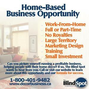 Run a profitable home decor business and work-from-home!