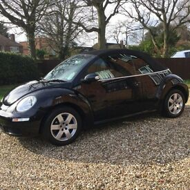 VW Beetle Convetible Luna 102PS,1.6 Black,2006