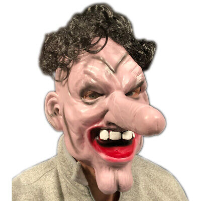 Funny Willy Nose Clown Mask Latex Full Head Dick Face Costume Stag Hen - Latex Clown Nose