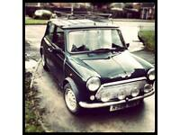 Classic mini Balmoral , low mileage, MOT, no holes