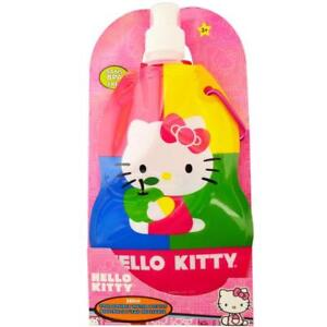 Hello Kitty Collapsible Water Bottle 380ml Sans BPA Free