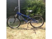 """Kids Dawes bicycle with 24"""" Wheels and 18 Shimano gears"""