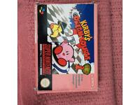 For Sale Super Nintendo Kirbys Dream Course