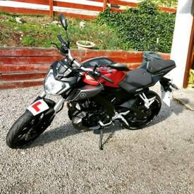 BARGAIN Yamaha MT 125 Red