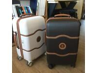 Delsey Chatlete 55 35 25 cm hard case cabin luggage trolley on 4 wheels