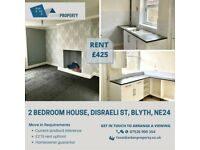 2 BEDROOM HOUSE TO LET ON DISRAELI ST, BLYTH