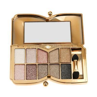 Auge Farbe Pinsel 10 (Lidschatten Palette mit Makeup Pinsel Eyeshadow Lidschattenpalette - 10 Farben)