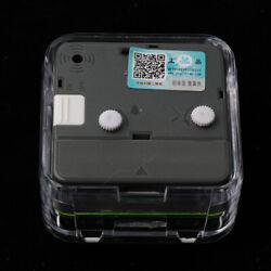 Battery Operated Portable Small Travel Alarm Clock Night Light Snooze 6#