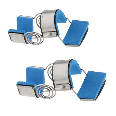 Mallet-fingerschiene (2 stücke Trigger Mallet Fingerschiene Unterstützung Brace Begradigen)