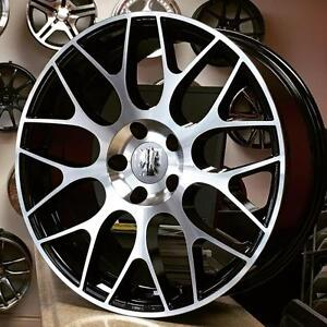 18 inch Rim Tire package $1100 CASH  @Zracing 905 673 2828(4Rims + 4Tires 225 40 R18 Installed Balanced) Rims Honda Mazd