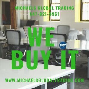 We Buy Your Office Furniture & Computer Equipment - Michaels Global Trading